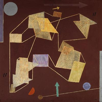 Buoyancy and Displacement (Soaring)-Paul Klee-Giclee Print