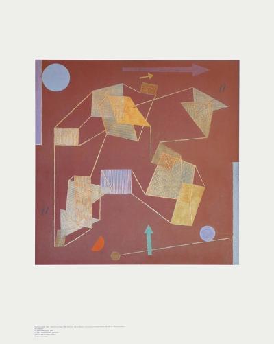 Buoyancy-Paul Klee-Art Print