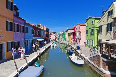 Burano, Venice-lachris77-Photographic Print