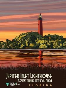 Jupiter Inlet Lighthouse Outstanding Natural Area In Florida by Bureau of Land Management