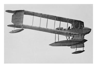 Burgess Sea Biplane of the Naval Militia--Art Print