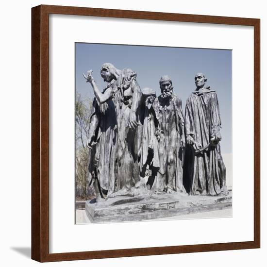 Burghers of Calais-Auguste Rodin-Framed Giclee Print