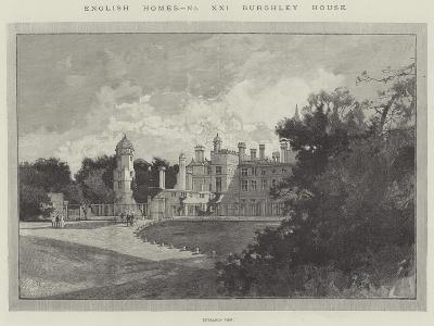Burghley House-Charles Auguste Loye-Giclee Print