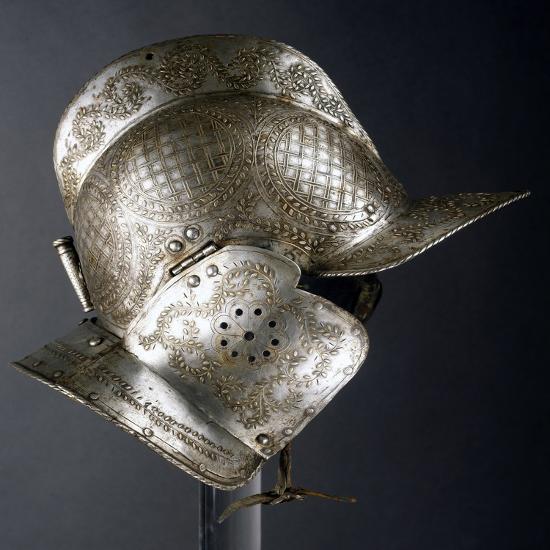 Burgonet Helmet--Giclee Print
