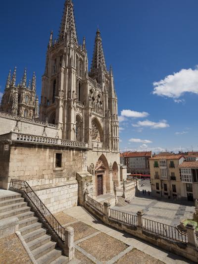 Burgos Cathedral, Burgos, Castilla Y Leon, Spain, Europe-Giles Bracher-Photographic Print