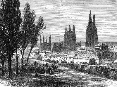 Burgos, Spain, 19th Century--Giclee Print