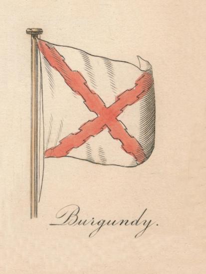 'Burgundy', 1838-Unknown-Giclee Print