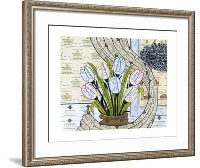 Burgundy-Valentino Monticello-Framed Collectable Print