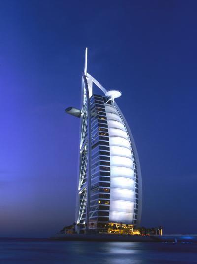 Buri Al Arab, Arabian Tower, Uae-Walter Bibikow-Photographic Print