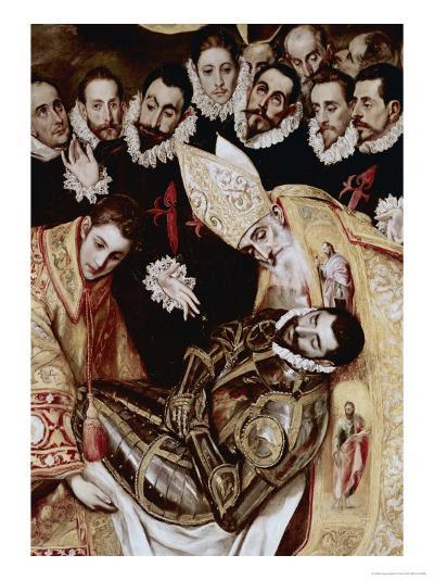 Burial of Count Orgaz-El Greco-Giclee Print