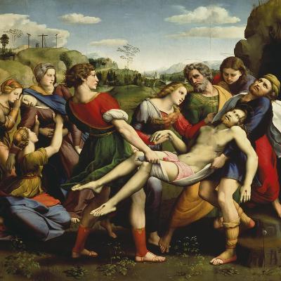 Burial of Jesus, 1507-Raphael-Giclee Print