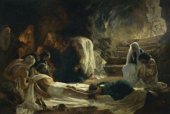 Burial of Jesus Christ, 1895-Vilmos Zsolnay-Giclee Print