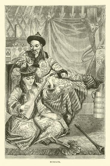 Buriats--Giclee Print