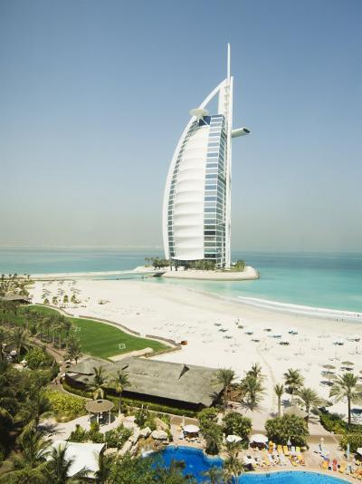 Burj Al Arab Hotel, Dubai, United Arab Emirates, Middle East-Amanda Hall-Photographic Print