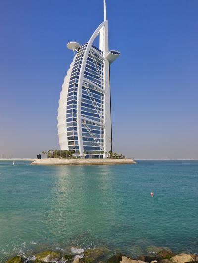 Burj Al Arab Hotel, Dubai, United Arab Emirates-Keren Su-Photographic Print