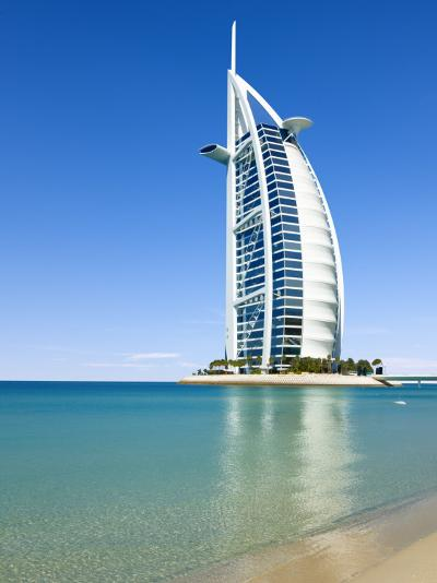 Burj Al Arab Hotel-Jean-pierre Lescourret-Photographic Print