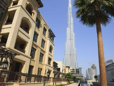 Burj Khalifa, Formerly the Burj Dubai, the Tallest Tower in the World at 818M-Amanda Hall-Photographic Print