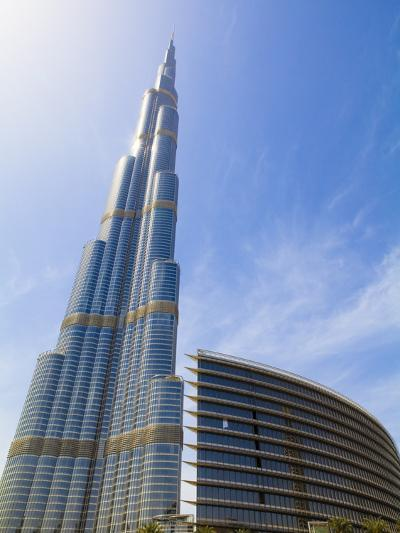 Burj Khalifa, the Tallest Man Made Structure in the World at 828 Metres, Downtown Dubai, Dubai, Uae-Amanda Hall-Photographic Print
