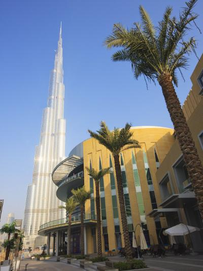 Burj Khalifa, the Tallest Tower in World at 818M, Downtown Burj Dubai, Dubai, United Arab Emirates-Amanda Hall-Photographic Print