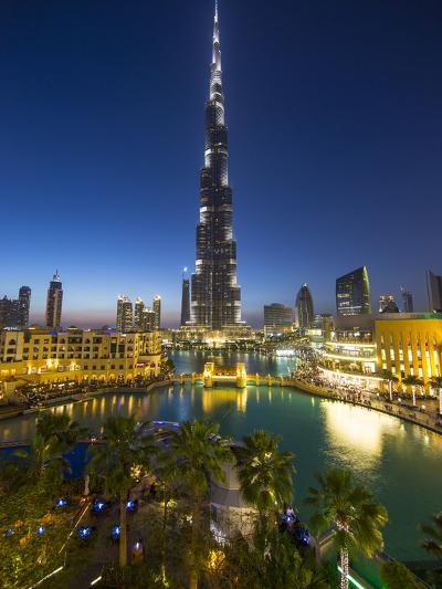 Burj Khalifa (World's Tallest Building), Downtown, Dubai, United Arab Emirates-Jon Arnold-Photographic Print