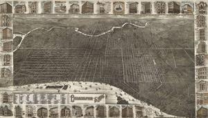 Philadelphia in 1885 by Burk & McFetridge