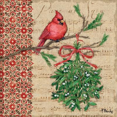 Burlap Holiday I-Paul Brent-Art Print