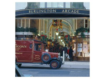 Burlington Arcade, London, England, United Kingdom of Great Britain--Art Print