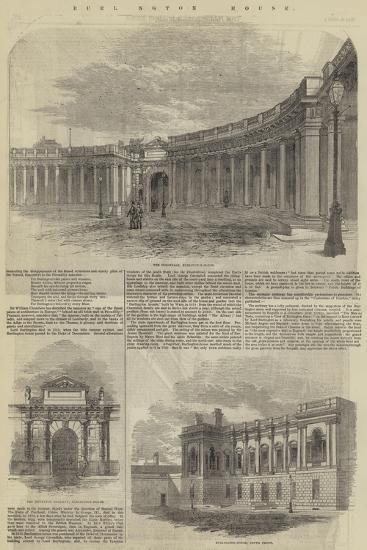 Burlington House--Giclee Print