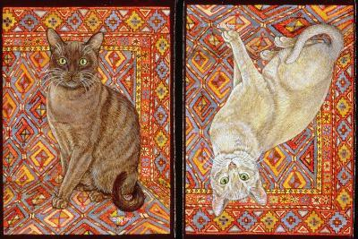 Burmese Carpet-Patch, 1997-Ditz-Giclee Print