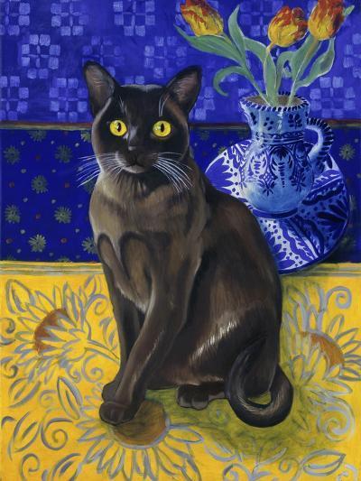 Burmese Cat, Series I-Isy Ochoa-Giclee Print