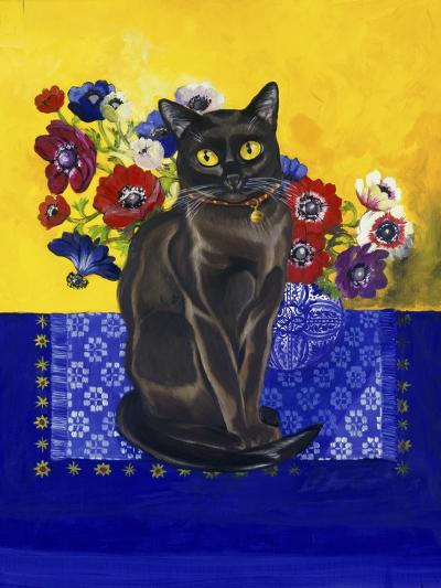 Burmese Cat, Series II-Isy Ochoa-Giclee Print