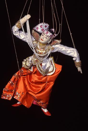 Burmese String Puppet--Photographic Print