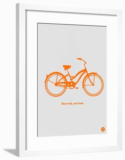 Burn Fat Not Fuel-NaxArt-Framed Art Print