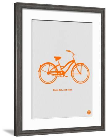 Burn Fat Not Fuel-NaxArt-Framed Art Print