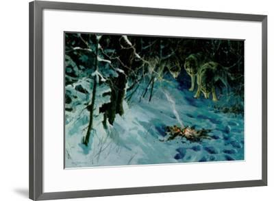 Burning Amber-Alan Sakhavarz-Framed Art Print