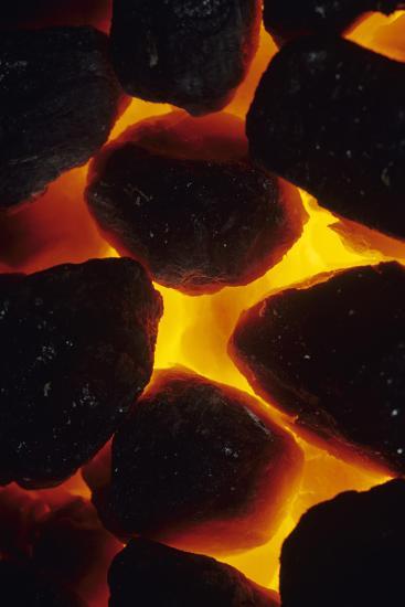 Burning Coal-David Aubrey-Photographic Print