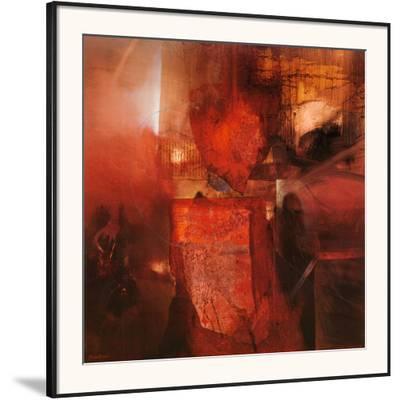 Burning Heart-Fausto Minestrini-Framed Art Print