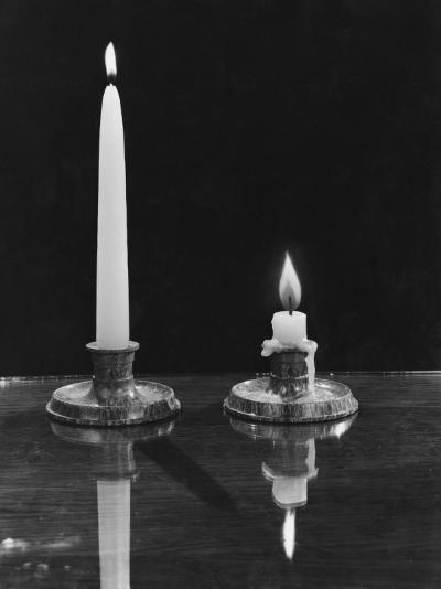 Burning the Candle--Photographic Print