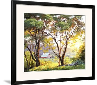 Burnished Landscape-Erin Dertner-Framed Art Print