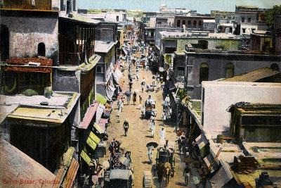 Burra Bazar, Calcutta, India, Early 20th Century--Giclee Print