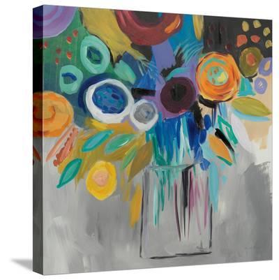 Burst Of Magic-Farida Zaman-Stretched Canvas Print
