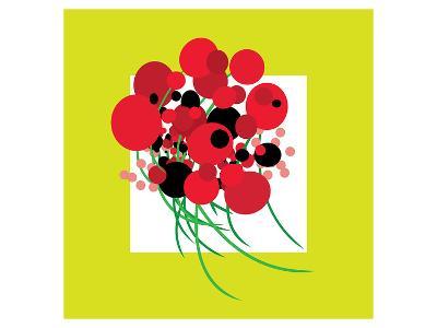 Burstin' Bouquet--Art Print