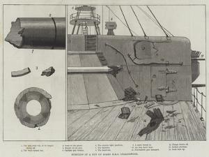 Bursting of a Gun on Board HMS Collingwood
