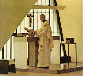 """Benedictine Monk,"" November 28, 1964 by Burt Glinn"