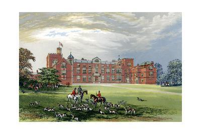 Burton Constable, Yorkshire, Home of Baronet Constable, C1880-AF Lydon-Giclee Print