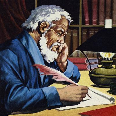 Burton Later Became a Writer and Translator of Note--Giclee Print
