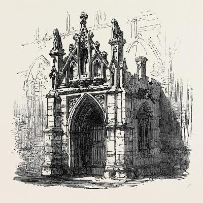 Bury St. Edmunds: Porch of St. Mary's Church 1867--Giclee Print