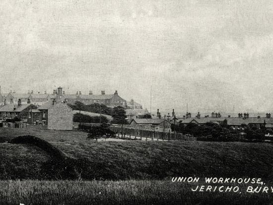 Bury Union Workhouse, Jericho, Lancashire-Peter Higginbotham-Photographic Print
