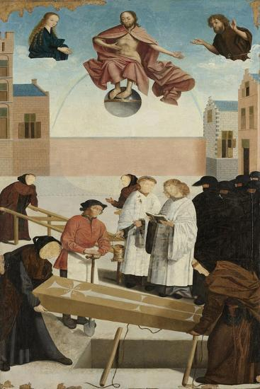 Burying the Dead from The Seven Works of Mercy, 1504-Master of Alkmaar-Giclee Print
