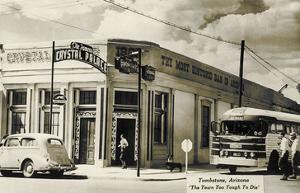 Bus Depot, Tombstone, Arizona